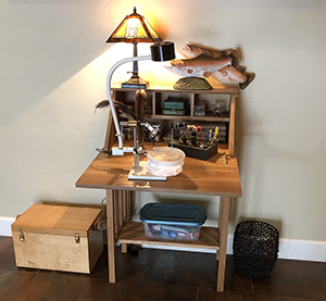 First And Foremost, Find A Dedicated Fly Tying Area For Yourself Including  A Sturdy Desk Or Table. This Will Allow You To Maximize Your Time Spent At  The ...
